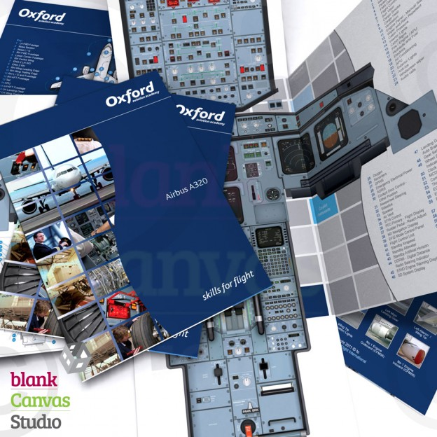 Visual Communication   A4 Fouldout Boeing A320 Walkround