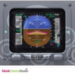 Instrument Panels for presentations and Manuals on the BAe 146 and AVRO RJ | Illustrations created as a Training aid to help Ground School Instructors