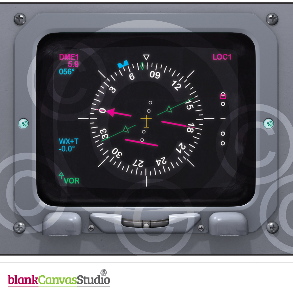 Instrument Panels for presentations and Manuals on the BAe 146 and AVRO RJ  | Illustrations created