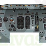 737 Classic Main Console Panel Poster Created For Training Purposes using Adobe Illustrator and In Design