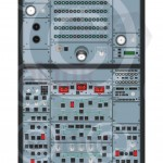 Airbus A320 Overhead Panel Poster Created For Training Purposes using Adobe Illustrator and In Design