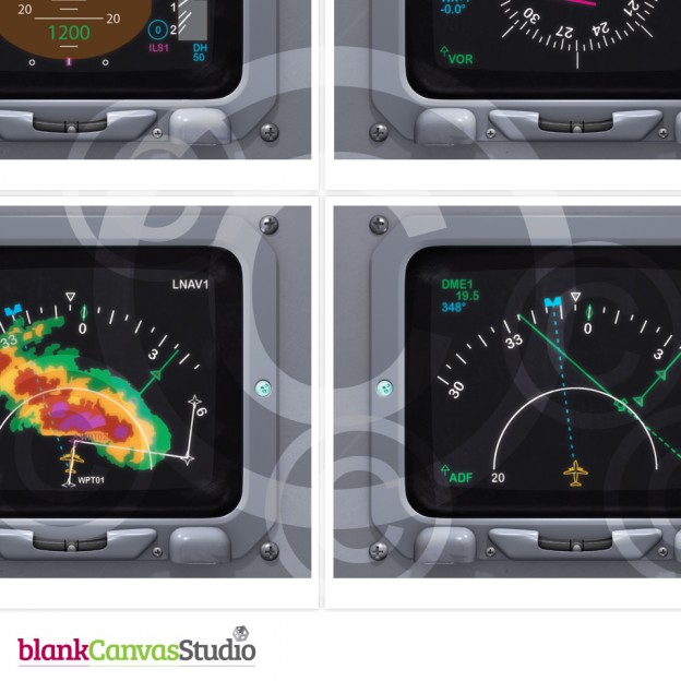 Aircraft Instrument Panels Featured Illustrations