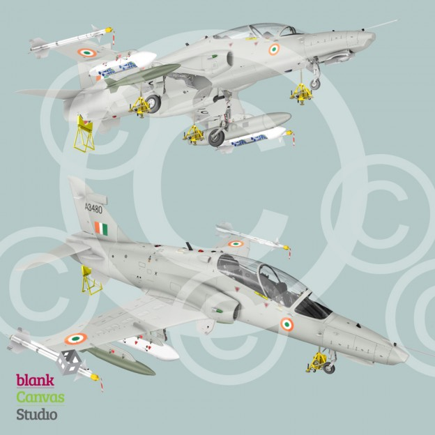 India Hawk Aircraft_3D Artwork_Cover Artwork