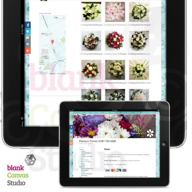 Palmers Florist Featured Website