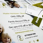 Flyer and Loyalty Card Design